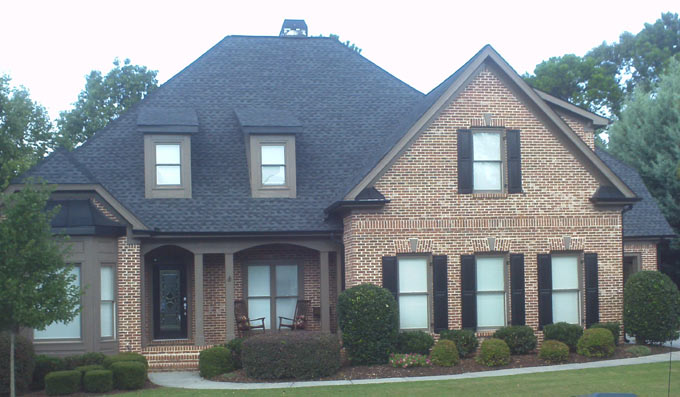 N Georgia roofs replaced defective Atlas Chalet shingles