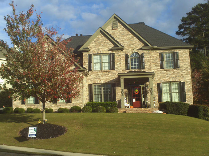 Atlanta Area roofs replaced defective Atlas Chalet shingles